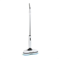 Double round 360 Mops Magic Floor Cleaner Water Spray Wax Wet and Dry 4 in 1 Mini Wireless Electric Mop