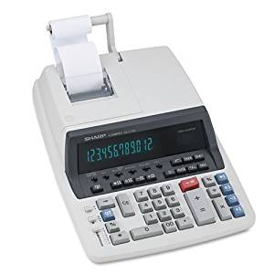 Sharp QS-2770H Two-Color Commercial Ribbon Printing Calculator