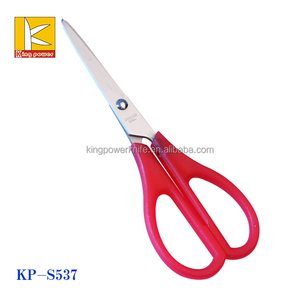 pp colorful handle stainless steel scissors household /office /student scissors