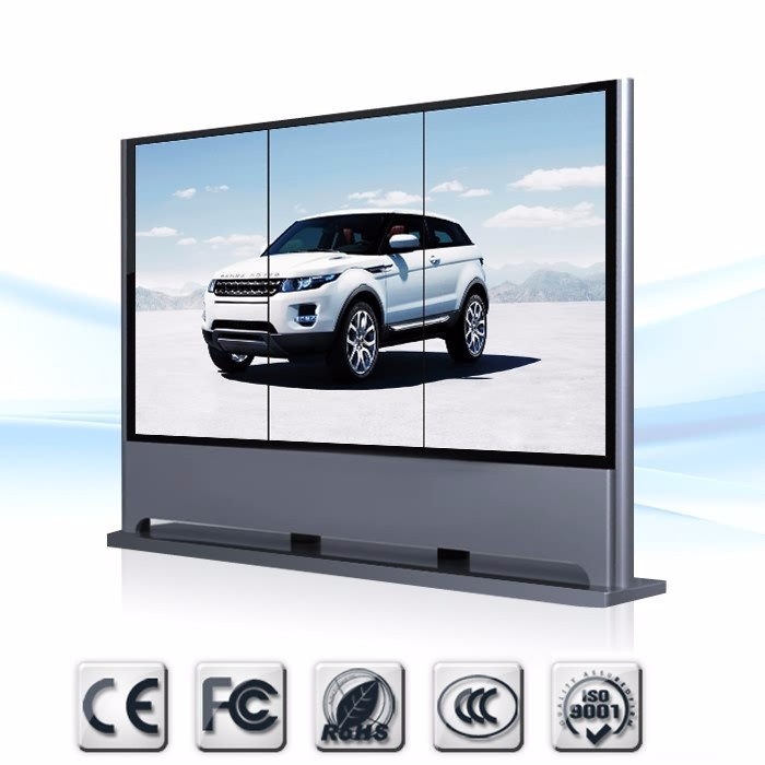 LG brand 55 inch 5.3mm Network LCD Video Wall Display Customized