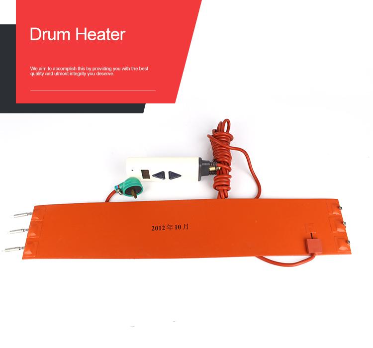 Fleksibel elektrisk varmestrimmel silikone gummivarmer
