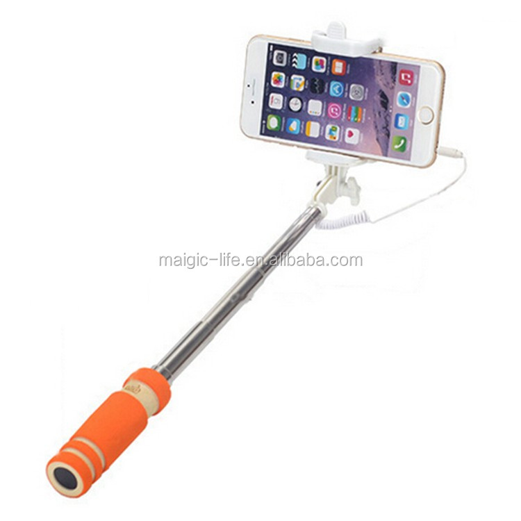 selfie stick perfectday foldable extendable bluetooth selfie stick with built in remote shutter. Black Bedroom Furniture Sets. Home Design Ideas