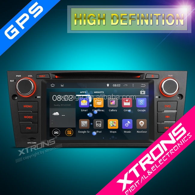 XTRONS PF7390BA Android 4.4.4 Quad-core android 1 din car stereo for bmw e90 with GPS Navigation Bluetooth OBD2 Bluetooth Wifi