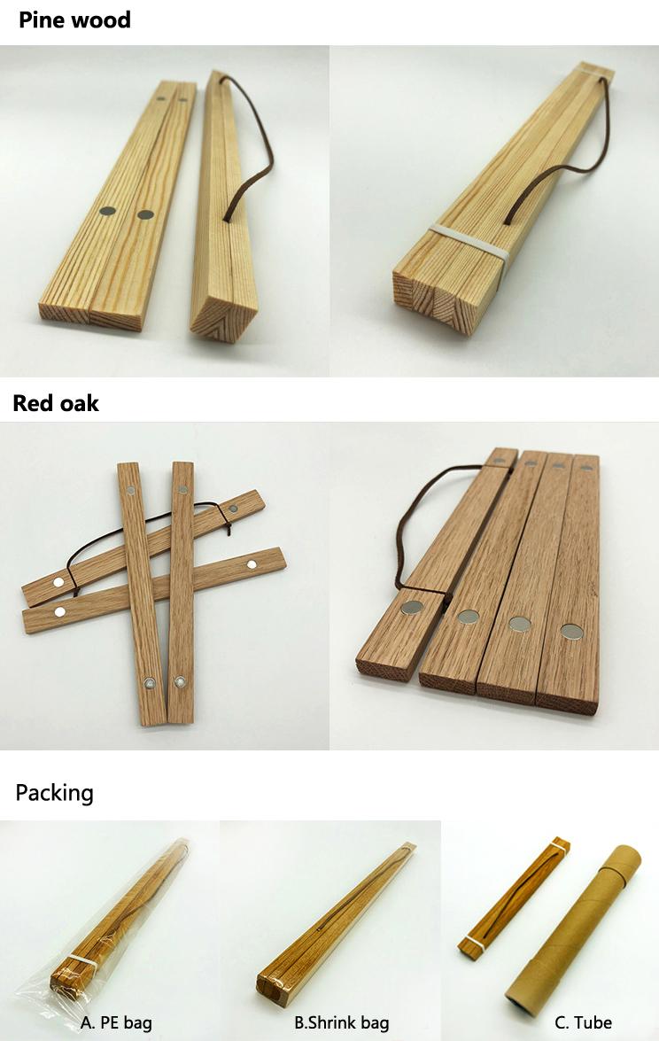 नई डिजाइन लकड़ी के लिए चुंबक फोटो फ्रेम चुंबकीय फांसी पोस्टर पिछलग्गू फ्रेम दीवार कला