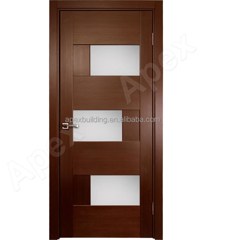 Modern single door designs for houses Catalogue Modern Single Teak Wood House Door Designs With Inlay Glass Doors For Builders Modern Single Teak Wood House Door Designs With Inlay Glass Buy