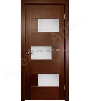 Beautiful House Door Kerala Door Designs , Solid Teak Wood Door Prices