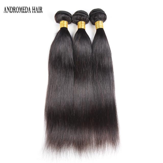 Afro Russian virgin brazilian straight hair 16 18 20 inches weave bundles mink peruvian hair grade 8A natural color