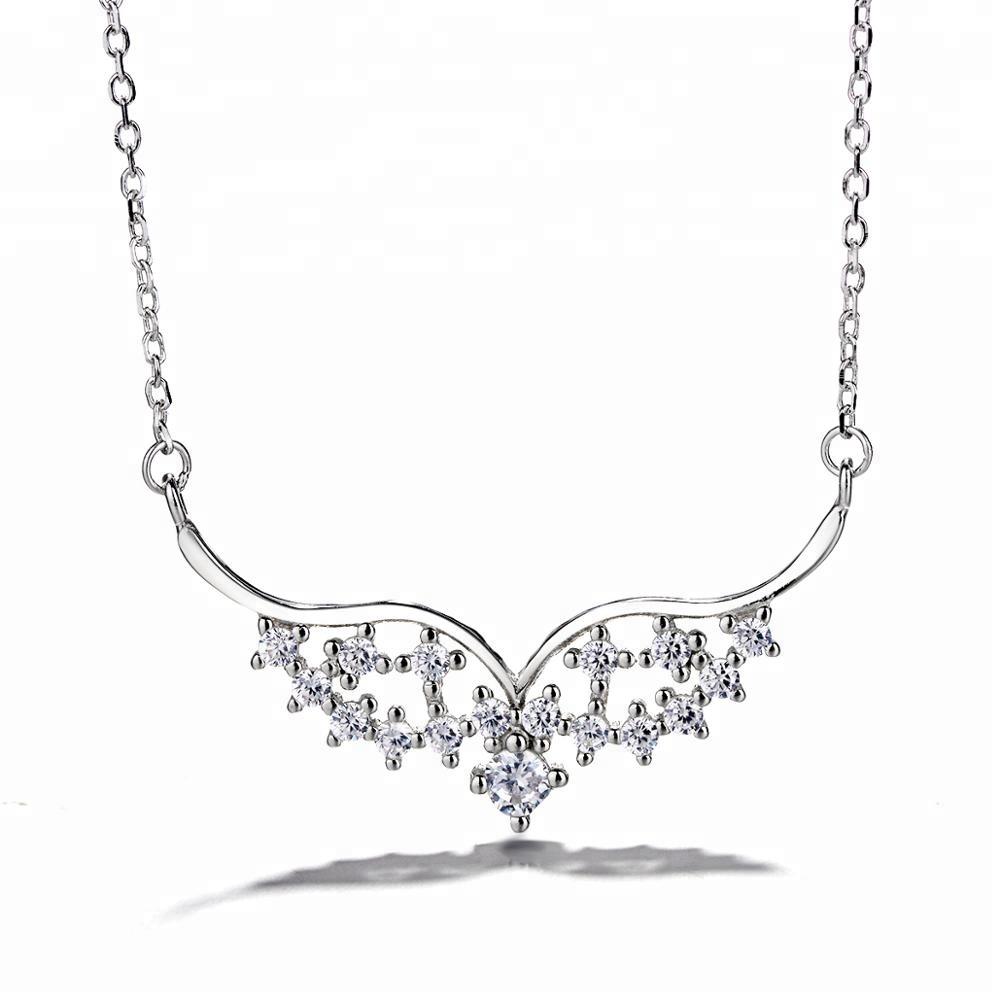 84e6b74a367c Venta al por mayor collares de plata 925 de china-Compre online los ...
