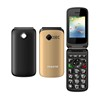 Original Vkworld VK Z2 Mobile Phone 2.4 inch Qwerty Keyboard Long Standby Loud Sound FLIP Phone Old Man People Phone
