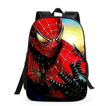 China Manufacturer New Style Batman Spiderman School Bag For Kids Backpack ecd0f5a91c7a5