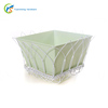 Removable White Cover Decorative Flower Plant Pot Box