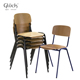 Modern Old School Style Wooden School Chair For Restaurant With High Quality