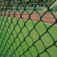 High Quality Flexible Sports Ground Fencing removable chain link fence/chain link fence panels/Diamond mesh