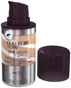 (Pack 2) Covergirl Plus Olay 350 Eye Rehab Concealer, Medium, 0.5 Fluid Ounce