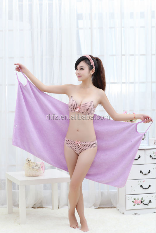 New desgin Lady dress/ Super absorbent microfiber Spa dress towel