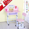 China manufacturer cheap colouful height adjustable children study chair and desk
