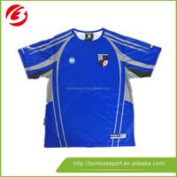 Custom Logo Print blue T Shirt