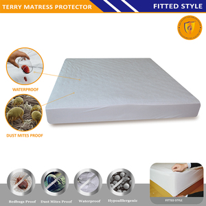 Factory direct sale Cheap Waterproof pvc Mattress Cover/bedspread protector