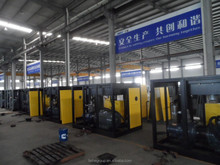 china shanghai used portable diesel air compressor/industrial air compressor 10kw/low noise oil free air compressor