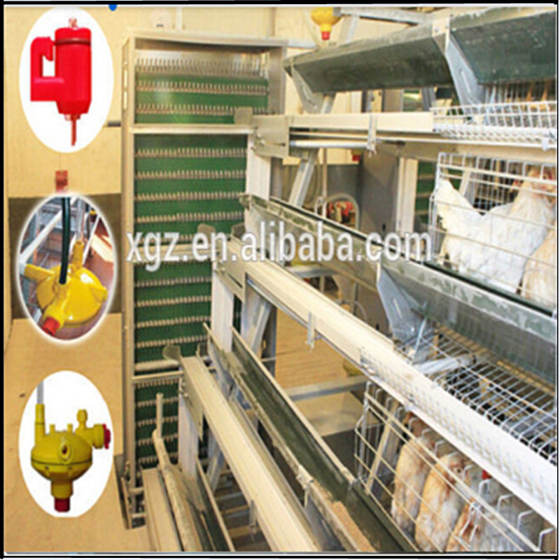 XGZ-layer egg chicken cage/poultry farm house design
