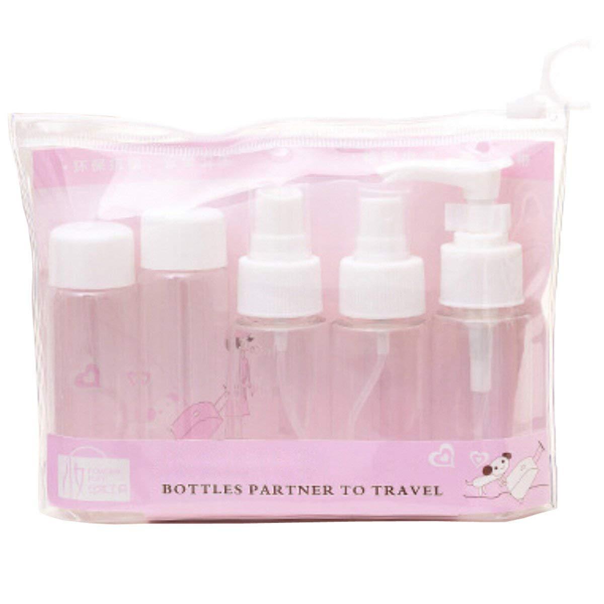 Plastic Spray Bottles - Foaming Liquid Soap Dispensers 40ml (1.36 oz) - Pack of 5 (White, 40ml (1.36 oz))