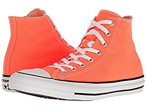f8a5a0e6b174 Get Quotations · Converse Chuck Taylor All Star Seasonal Color Hi Hyper  Orange Lace up casual Shoes