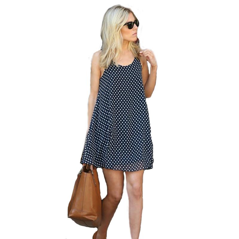 d323a34ba77 Летний Новый стиль корейский плюс размеры Сращивание плиссированные волна  точка футболка платье Женский