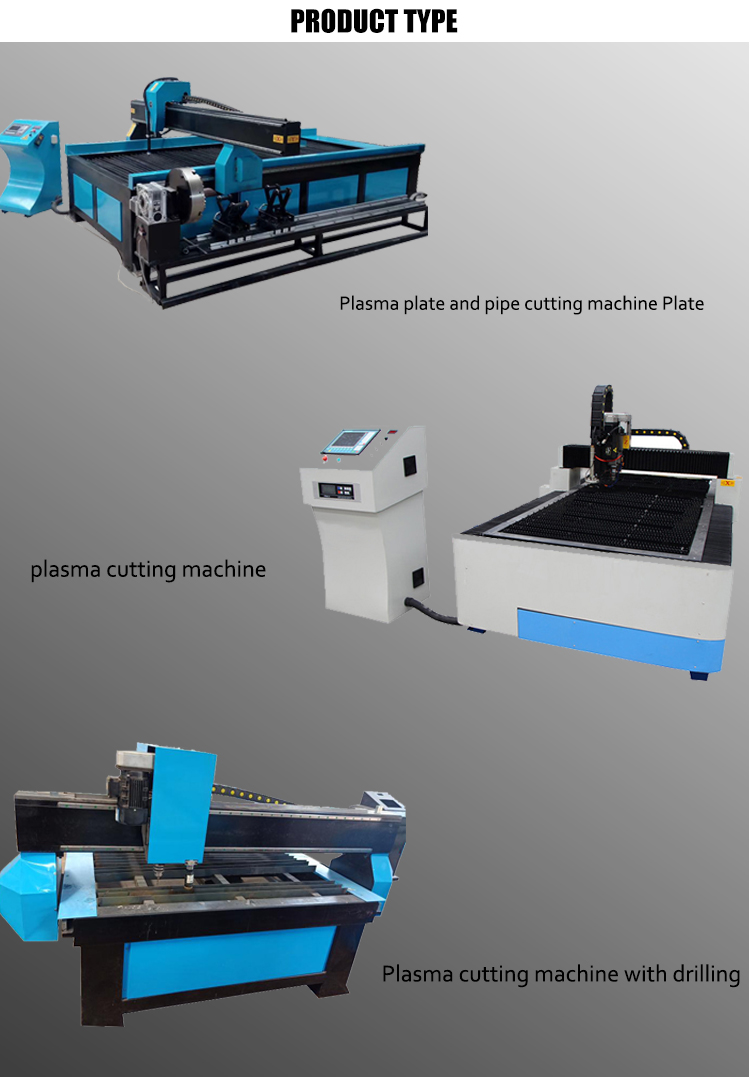 Table type CNC Plasma with marking cutting machine lgk 100 cutter torch body vertical working area 150mm