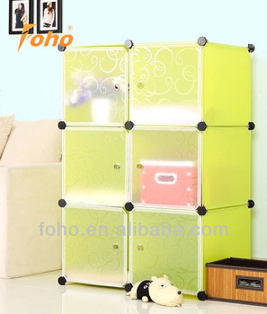 6cubes DIY plastic storage cabinet sale for bookstoys or others FH-AL0023-  sc 1 st  Alibaba & 6cubes Diy Plastic Storage Cabinet Sale For BooksToys Or Others Fh ...