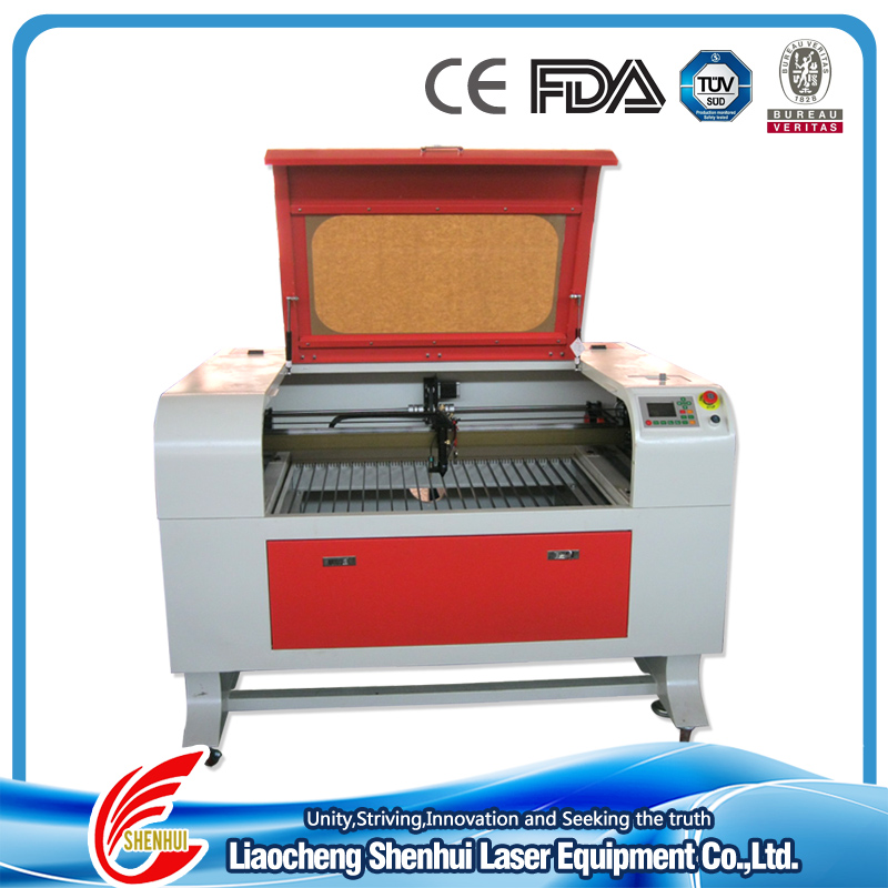 Factory direct best selling wood crafts 2012 laser cutter