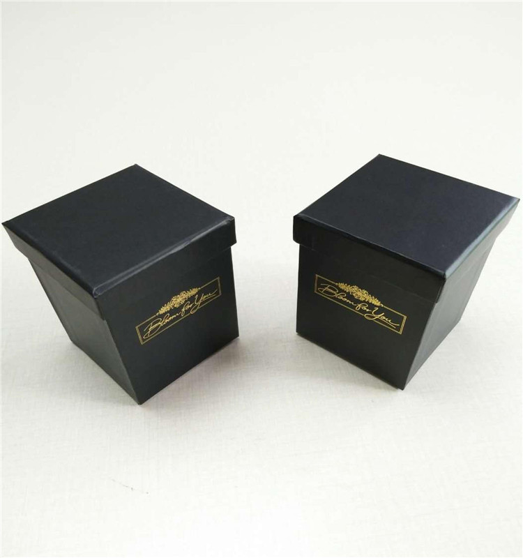 custom small aroma candles gift paper boxes for packaging