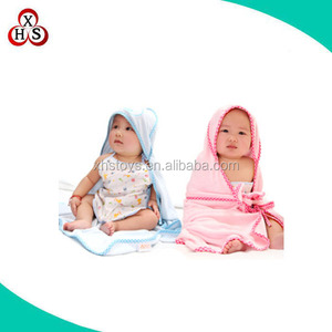 New products Custom lovely baby bath towel coat