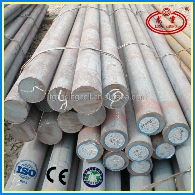 Dia 30mm -140mm Length 3m- 6m Steel Grinding Bar For Mine