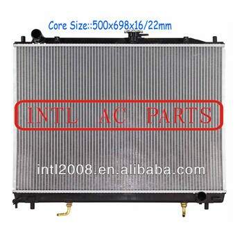 For Mitsubishi Pajero V73 V6 Auto air conditioner radiator assembly MA968286