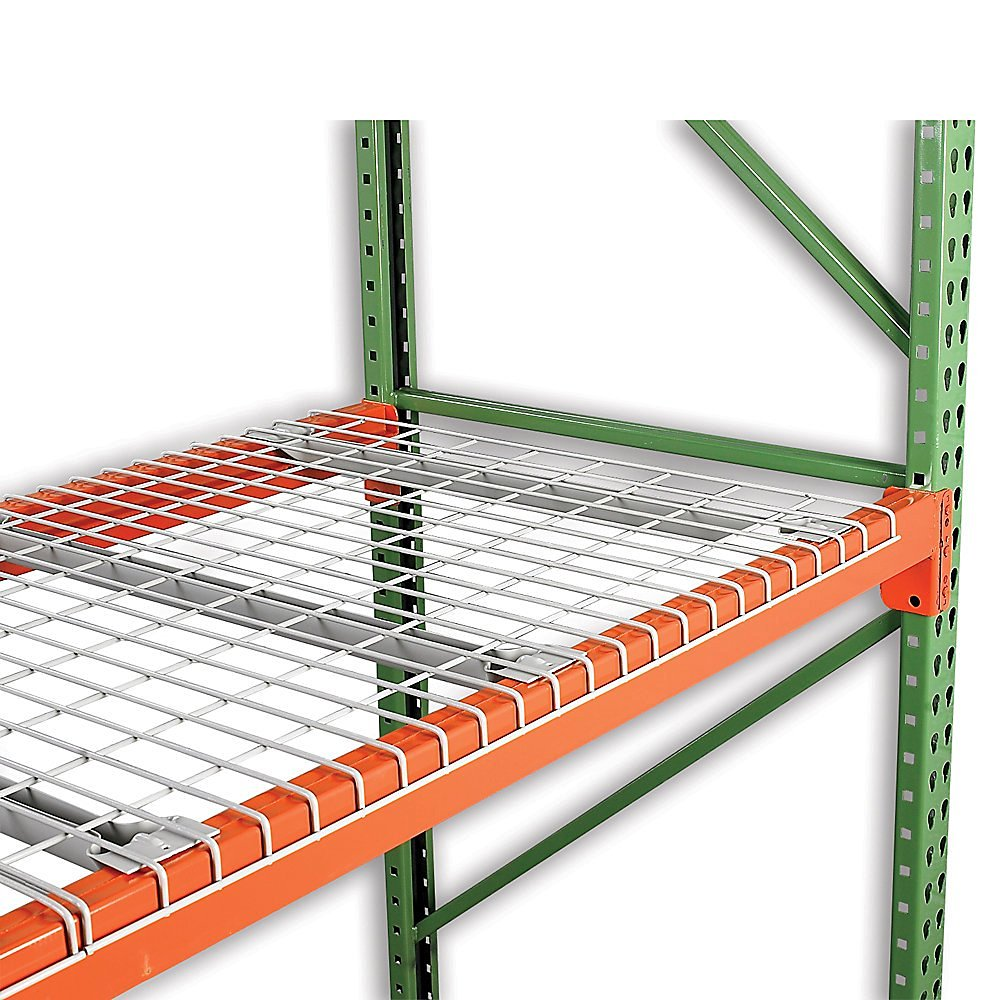 """Nashville Wire Painted Steel Wire Decking For Box Beams - 52X42"""" - Standard Capacity - Gray"""