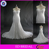 LN31 Sweetheart Spanish Style Lace Appliqued Real Sample Mermaid Wedding Dress Patterns