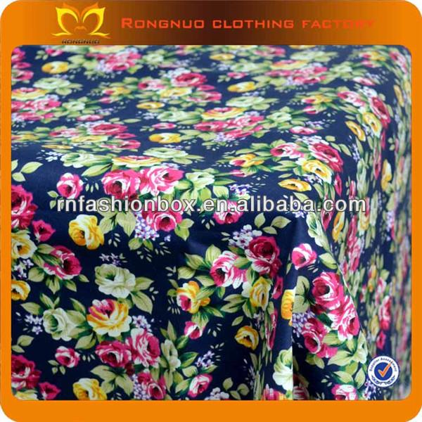 100%cotton Indonesia Floral Printed Fabric 100*150cm Organic ...