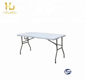 2018 Hot Sale 6FT Plastic Folding Table