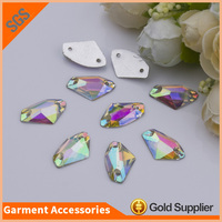 Wholesale Best Quality Clear AB Resin Stone Sew On Resin Rhinestone For Dress
