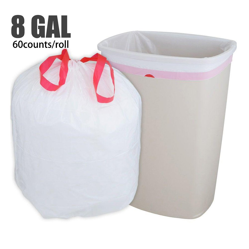 60 Counts Roll Fanmaous 8 Gallon 30l Strong Durable