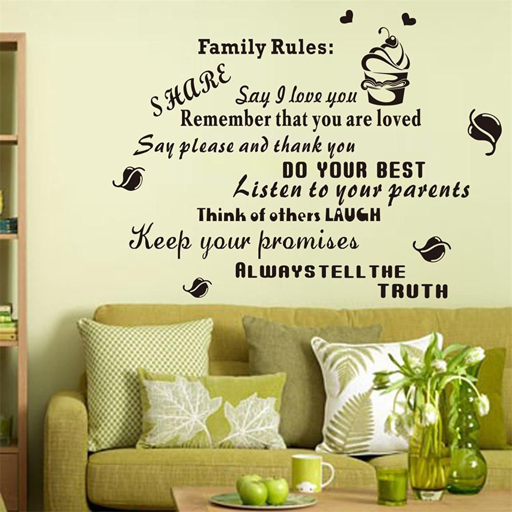 Cheap Family Rules Wall Art, find Family Rules Wall Art deals on ...