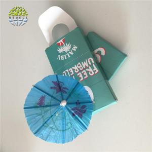 Wholesale factory sale drink umbrellas bulk with square box