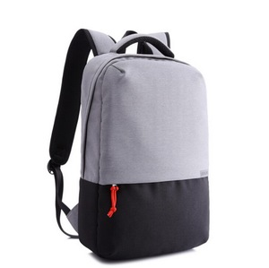 Wholesale new design custom cotton canvas casual school backpack 17.5'' laptop bag