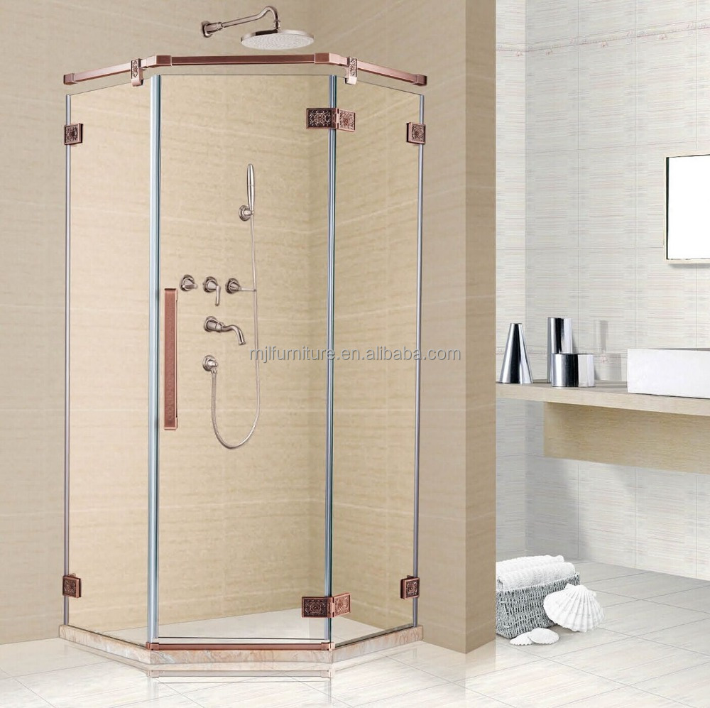 2015 america style wholesale shower tray tempered glass dubai shower screen