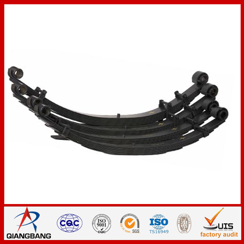 China Double Eye Leaf Spring 100x11-8