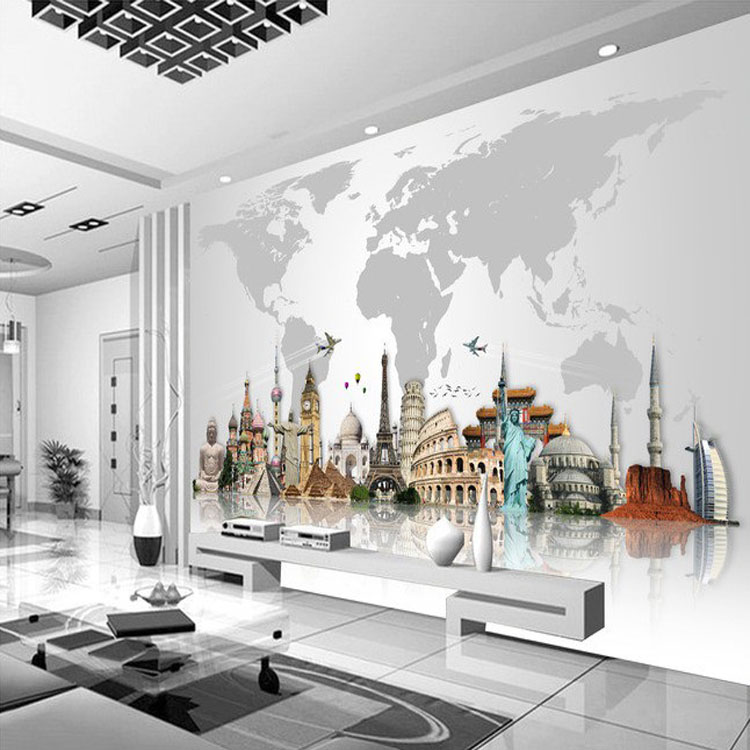 Environmental Mural Photo Wall Paper Imported Wallpaper Vintage Papel De Parede Adesivo The Fairy Tale Background Homedecoration - Buy Environmental Mural ...