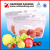 OEM Clear Window Fresh Vegetable Plastic Bag With Holes