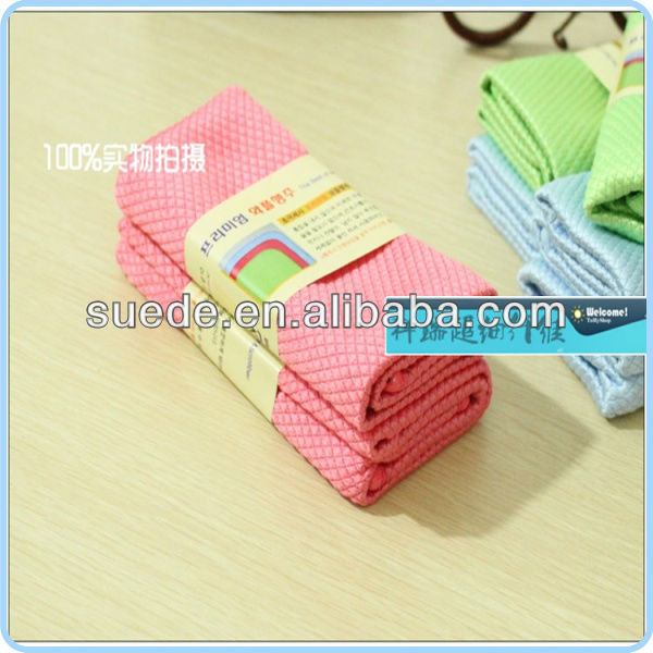 super absorbent microfibre cleaning towels china factory household product