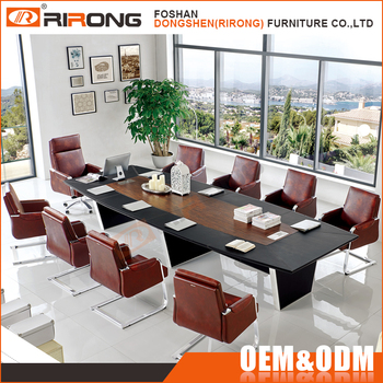 Boardroom Office Furniture Wooden Rectangular Conference Table - Rectangular conference room table
