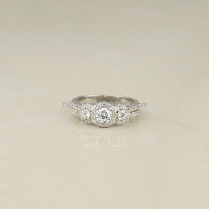 Latest 925 Sterling Silver Ring Designs for Girls Wedding s925 Silver Ring Diamond